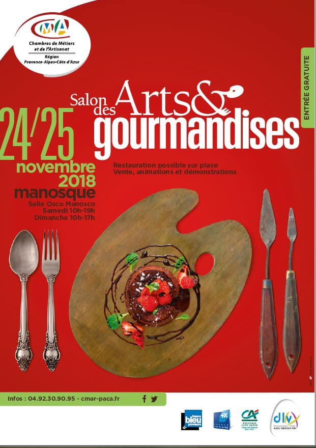 le salon arts et gourmandises
